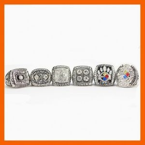 Other - Pittsburgh Steelers Silver Championship Ring Set